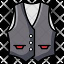 Waistcoat Jacket Vest Icon