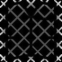 Waistcoat Casual Wear Icon