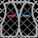 Waistcoat Formal Denim Icon