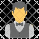 Waiter Bartender Butler Icon