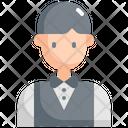 Waiter Avatar User Icon