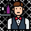 Iwaiter Waiter Occupation Icon