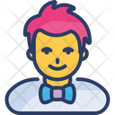 Male Avatar Character Icon