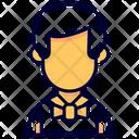 Waiter Man Avatar Icon