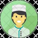 Waiter Waiting Staff Male Waiter Icon
