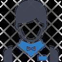 Waiter Avatar Busboy Icon
