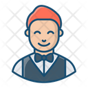 Waiter Servant Attendant Icon