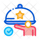 Event Waiter Party Icon