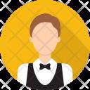 Waiter Service Avatar Icon