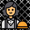 Waiter Avatar Occupation Icon