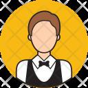 Waiter Avatar People Icon