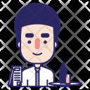 Waiter Person Skills Icon