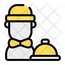 Waiter Butler Work Icon