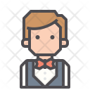 Waiters Lobby Bellboy Icon