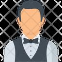 Waiter Man Steward Icon