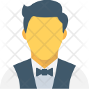 Waiter Young Boy Icon