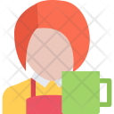 Waiter Cafe Candy Icon