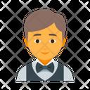 Waiter male Icon