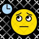 Waiting Boring Clock Icon