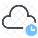 Waiting Cloud Icon