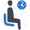 Patient Waiting Room Rest Icon
