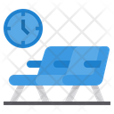 Waiting Room Airport Seats Icon