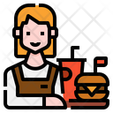 Fast Food Avatar Occupation Icon