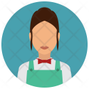 Waitress Waiter Woman Icon