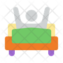 Wake Up Get Up Bed Room Icon