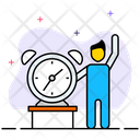 Wake Up Time Icon