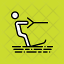 Wakeboarding Surfing Water Icon