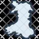 Wales England Cardiff Icon