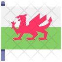Wales Flag Flag Country Icon