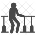 Walk Training Rehab Icon