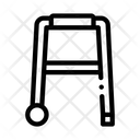 Walker Orthopedic Equipment Icon