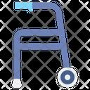 Walker Walking Disability Icon