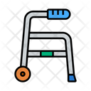 Walker Disabled Handicap Icon