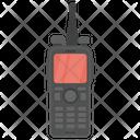 Walkie Talkie Satellite Phone Mobile Phone Icon