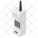 Military Mobile Police Transmitter Walk Talker Icon