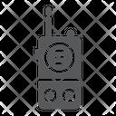 Walkie Talkie Communication Icon