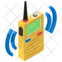 Walkie Talkie Wireless Communication Radio Transmitter Icon