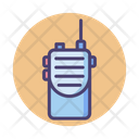 Walkie Talkie Communication Device Icon