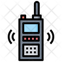 Frequency Walkie Talkie Electronics Icon