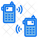 Radio Phone Data Communication Icon