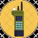 Walkie Talkie Communication Army Icon