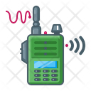 Walkie Talkie Military Communication Icon