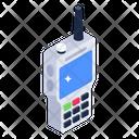 Walkie Talkie Wireless Mobile Transceiver Icon