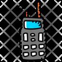 Police Walkie Talkie Communication Device Walkie Talkie Icon