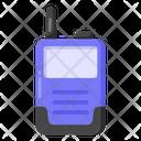 Walkie Talkie Wireless Mobile Radiotelephone Icon