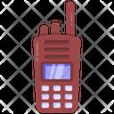 Radiotelephone Walkie Talkie Communication Device Icon